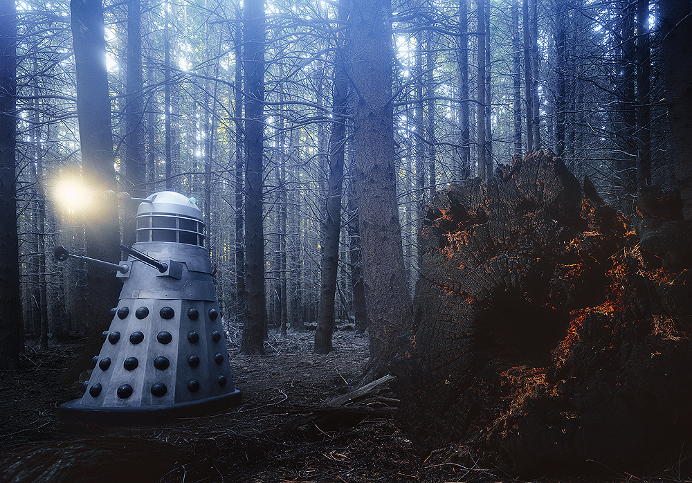 daleks-in-forest